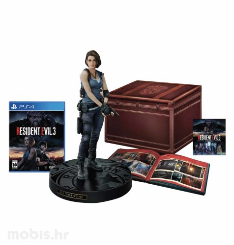 Resident Evil 3 Remake Collector's Edition igra PS4