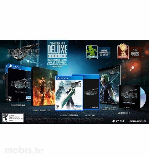 Final Fantasy VII HD Remake Deluxe Edition igra za PS4