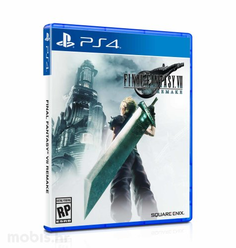 Final Fantasy VII HD Remake Standard Edition igra za PS4