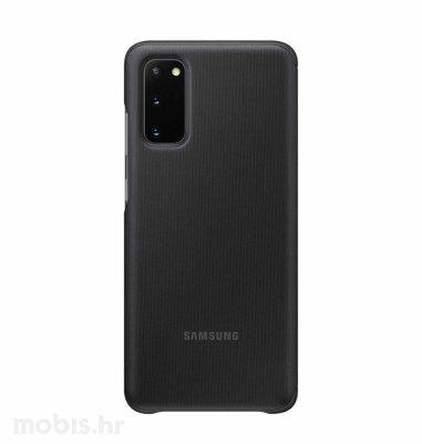 Clear View maska za Samsung Galaxy S20: crna