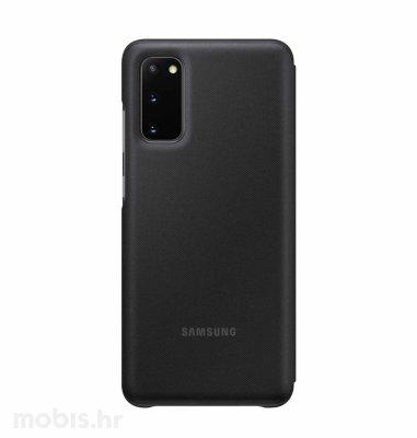 LED View maska za Samsung Galaxy S20: crna