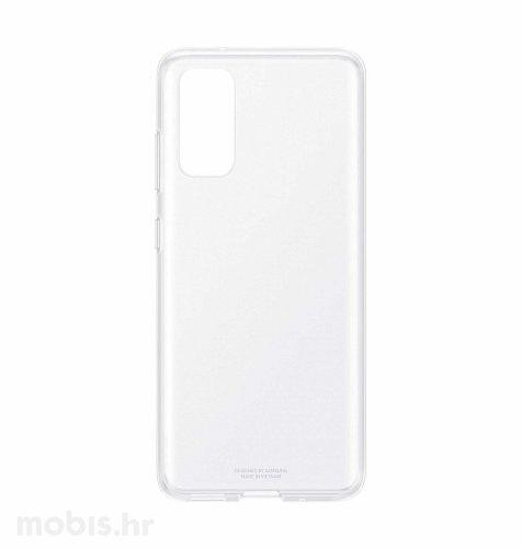 Silikonska maska za Samsung Galaxy S20: prozirna