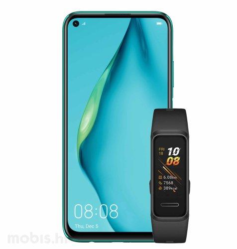 Huawei P40 lite: zeleni + Huawei Band 4