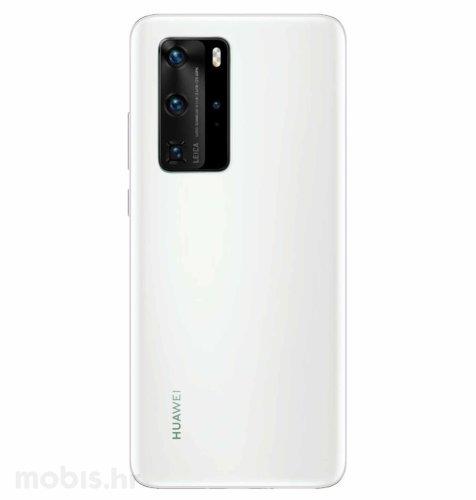 Huawei P40 Pro: bijeli + JCM silikonska maskica