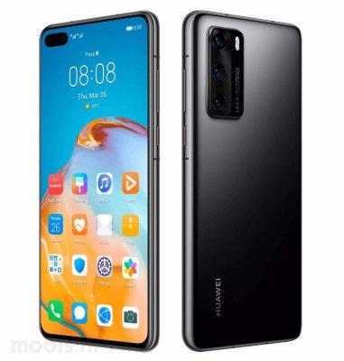 Huawei P40: crni