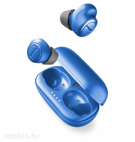 Cellular line AQL slušalice bluetooth Plume: plave