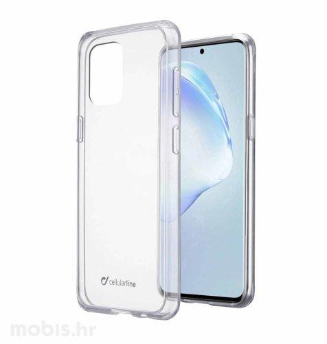 Cellularline plastična zaštita za uređaj Samsung Galaxy S20+: prozirna