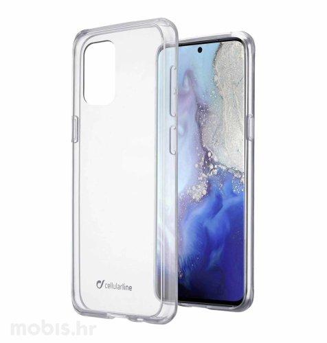 Cellular line plastična zaštita za uređaj Samsung Galaxy S20: prozirna