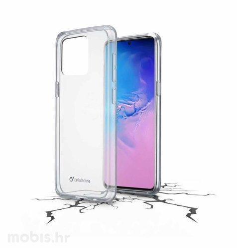 Cellular line plastična zaštita za uređaj Samsung Galaxy S20 Ultra: prozirna