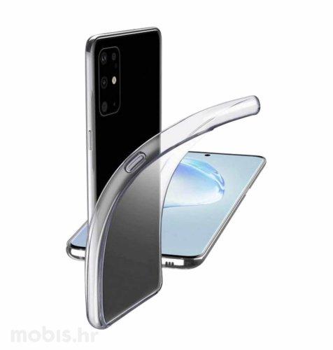 Cellular line silikonska zaštita za uređaj Samsung Galaxy S20+: prozirna