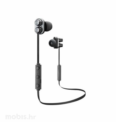 Cellular line bluetooth Duet slušalice: crne
