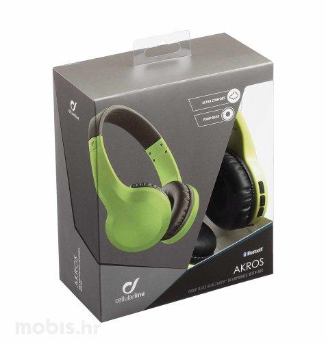 Cellular line AQL Bluetooth Akros slušalice: zelene