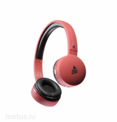 Cellularline slušalice bluetooth Music Sound: crvene