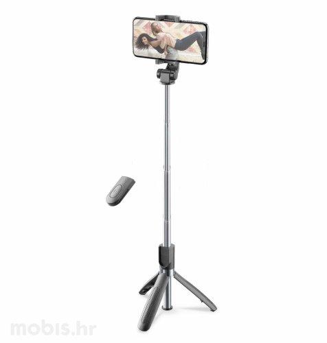 Cellularline selfie stick bluetooth tripod
