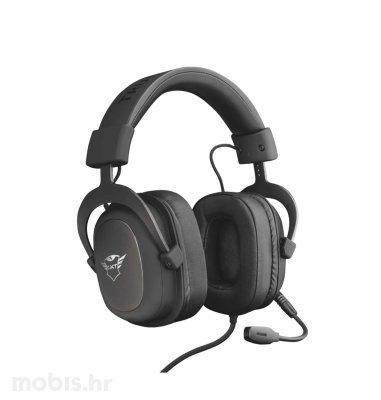 Trust Zamak Premium gaming slušalice (GXT414): crne