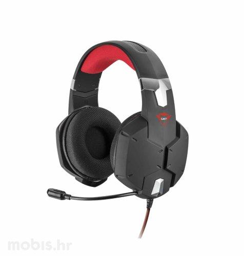 Trust Carus gaming slušalice (GXT322): crne