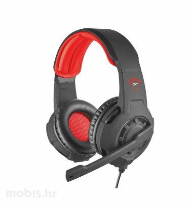 Trust Radius gaming slušalice (GXT310): crne