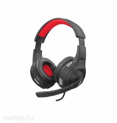 Trust Ravu gaming slušalice (GXT307): crvene