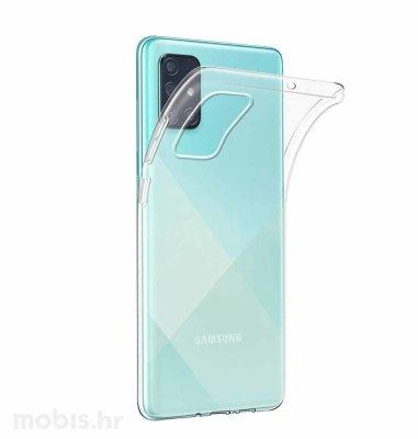 JCM silikonska maskica za Samsung Galaxy A51: prozirna