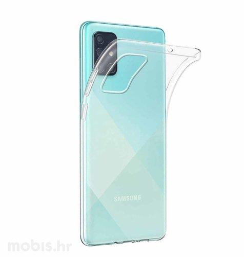 JCM silikonska maskica za Samsung Galaxy A71: prozirna
