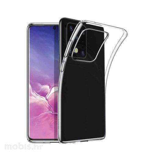 JCM silikonska maskica za Samsung Galaxy S20 Ultra: prozirna
