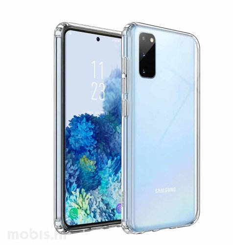 JCM silikonska maskica za Samsung Galaxy S20+: prozirna