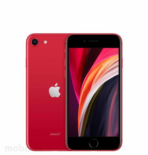 Apple iPhone SE2 64GB: crveni