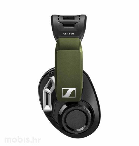 Sennheiser GSP 550 slušalice: crne