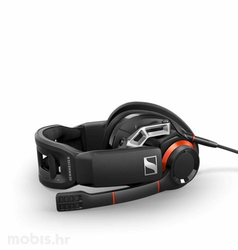 Sennheiser GSP 500 slušalice: crveno crne