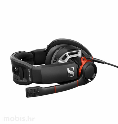 Sennheiser GSP 600 slušalice: crno crvene