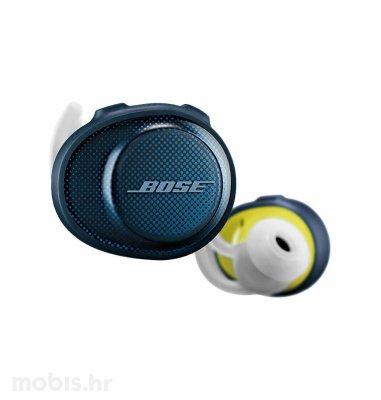 Bose Soundsport Free bežične slušalice: plavo žute