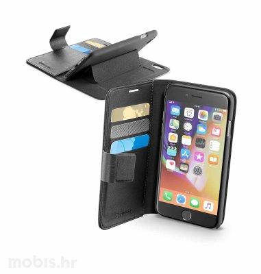 Cellular line preklopna maskica za iPhone 7/8/SE2: crna