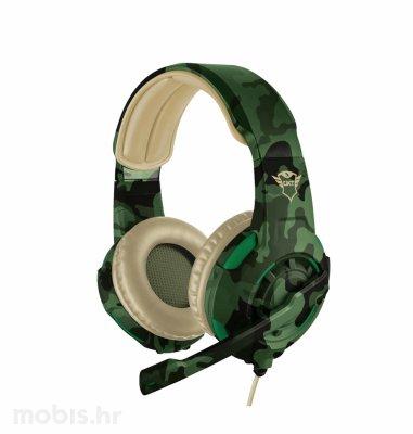 Trust Radius gaming slušalice (GXT310D): kamuflažno zelene