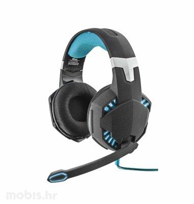 Trust Hawk gaming slušalice (GXT363): crne