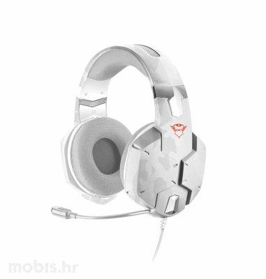 Trust Carus gaming slušalice (GXT322): bijele
