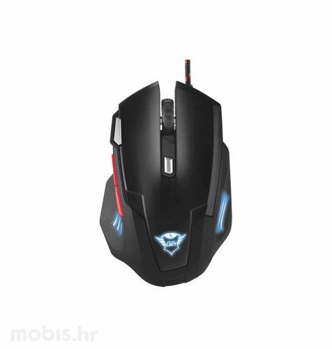 Trust Neebo gaming miš (GXT111): crni