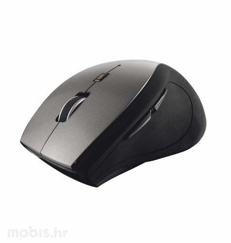 Trust Sura bežični miš: crno-sivi