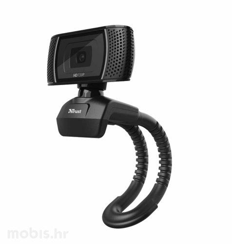 Trust Trino HD Web Kamera: crna