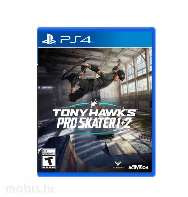 Tony Hawk's Pro Skater 1 + 2 igra za PS4