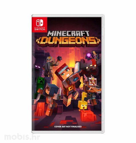 Minecraft Dungeons igra za Nintendo Switch