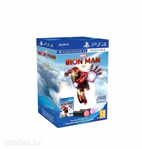 Marvel's Iron Man VR/PS Move Twin Pack igra za PS4