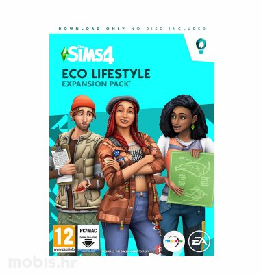 PC The Sims 4: Eco Lifestyle Expansion Pack igra za PC