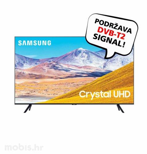 Samsung LED TV UE43TU8072 UHD SAT: crni