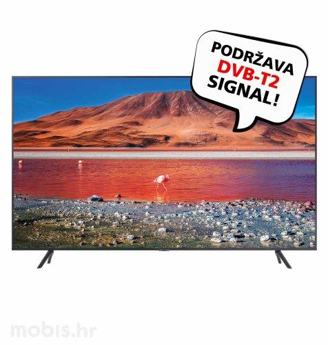 Samsung LED TV UE65TU7102 UHD SAT: srebrni