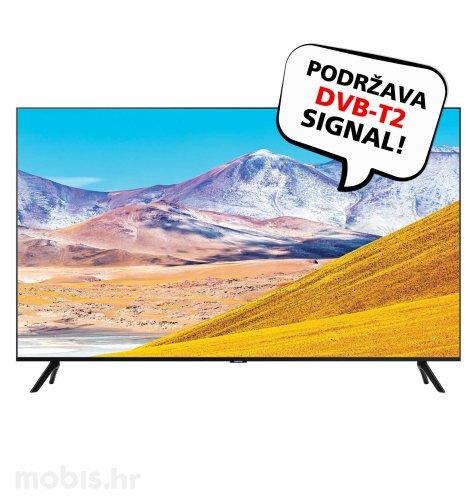Samsung LED TV UE65TU8072 UHD SAT: crni