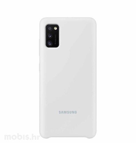 Silikonska maska za uređaj Samsung Galaxy A41: bijela