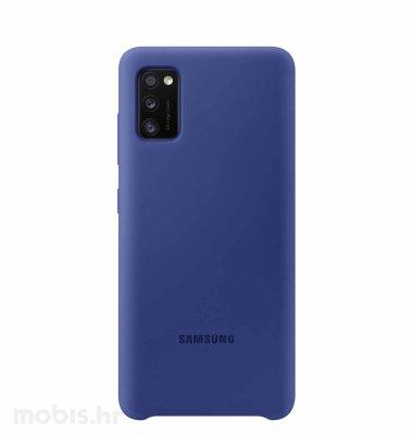 Silikonska maska za uređaj Samsung Galaxy A41: plava