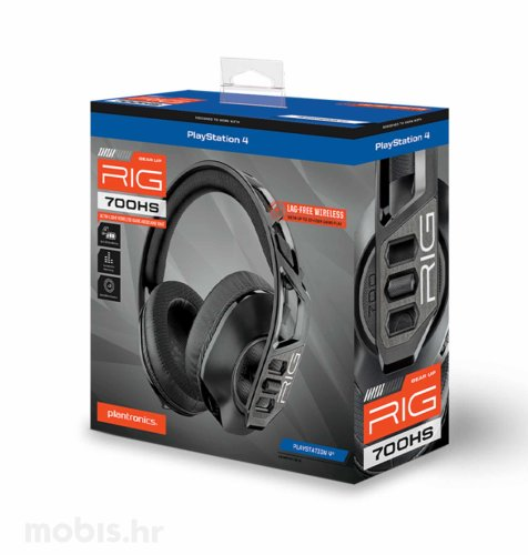 Nacon Rig 700HS gaming slušalice PS4: crne