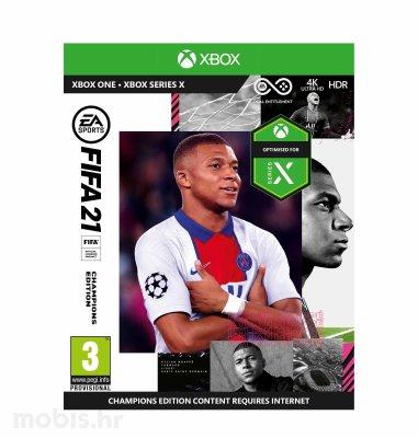 FIFA 21 Champions Edition igra za Xbox One