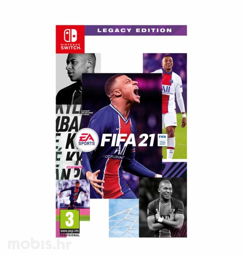 FIFA 21 igra za Nintendo Switch